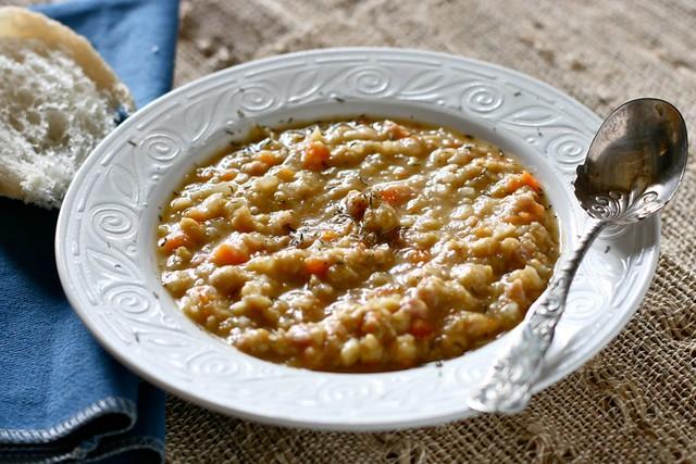 Garbanzo Bean Soup with Ham